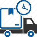 courier, delivery, transport, transportation, truck, vehicle icon