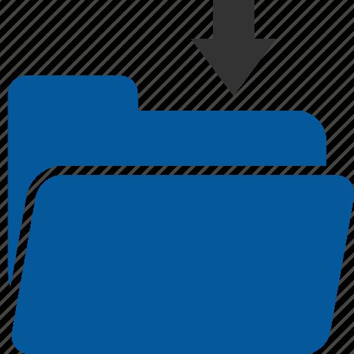 Folder, address list, database, directory, file, listing icon - Download on Iconfinder