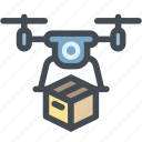 business, delivery, drone, drone delivery, logistics, package, transport
