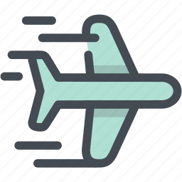 airplane, business, fly, jet, logistic delivery, logistics, plane icon