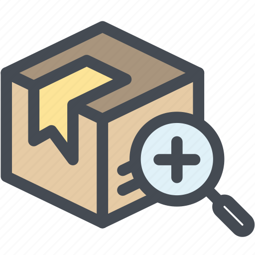 box, business, cardboard packaging, delivery, logistics, package find, packaging icon
