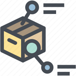 business, checking, delivery, logistics, package, package detail, shipping icon