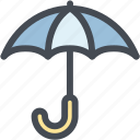 business, keep dry, keep dry parcel, logistics, parcel, shipping, umbrella icon