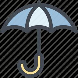 business, keep dry, keep dry parcel, logistics, parcel, umbrella icon