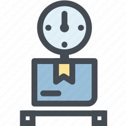 box, business, delivery, logistics, package, package weight, weight icon