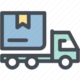 business, delivery, express, express delivery, logistics, present, truck icon