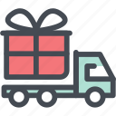 box, delivery, express, express delivery, gift, logistics, truck