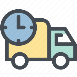 delivery, delivery time, logistic, logistic delivery, logistics, shipping, transport icon