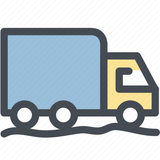 business, delivery, export, logistics, supply, transport, truck icon