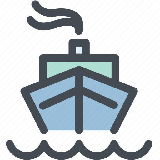 boat, business, container, logistic delivery, logistics, ship, transportation icon