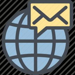 business, cyber communication, logistics, mail, mailing communication, message, notification icon