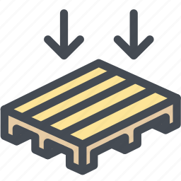 business, crate, logistics, pallet, storage, wood, wooden icon