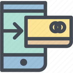 business, card, logistics, mobile, mobile pay, pay, payment icon