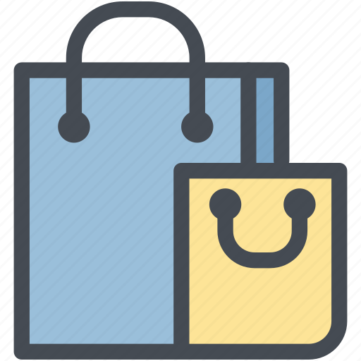 bags, business, delivery, logistics, shipping, shopping, shopping bags icon