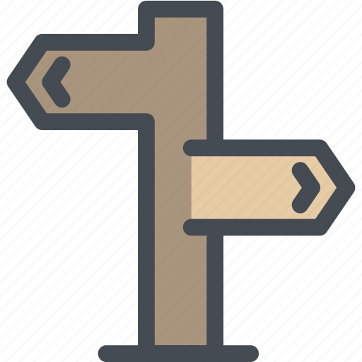 business, location, logistics, navigate, path, road sign, sign post icon
