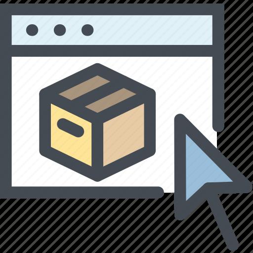 business, ecommerce, logistics, online, shop, shopping, web icon