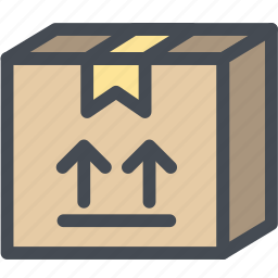 arrows, business, delivery, logistics, side, upper, upper side icon