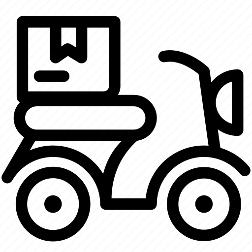 business, delivery, fast, fast delivery, logistics, products, scooter icon