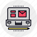 brieface, business, case, open, portfolio, suitcase icon