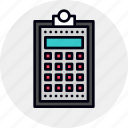 accounting, budget, calculator, company, financial, plan icon