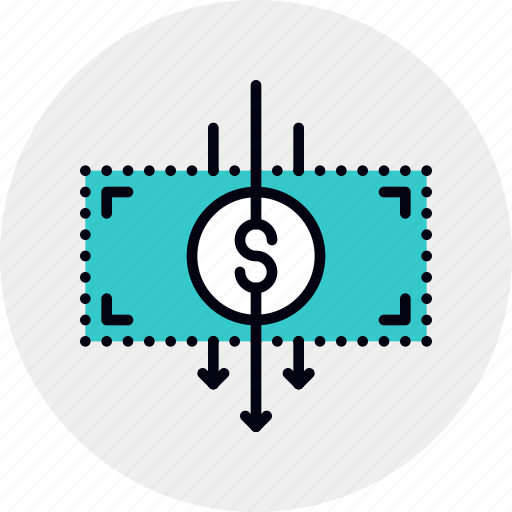 Business, cost, cut, expense, finance, money, reduce icon - Download on Iconfinder