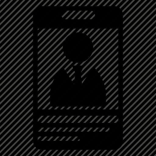 id, identity tag icon