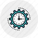 efficiency, management, processing, productivity, project, time, workflow icon
