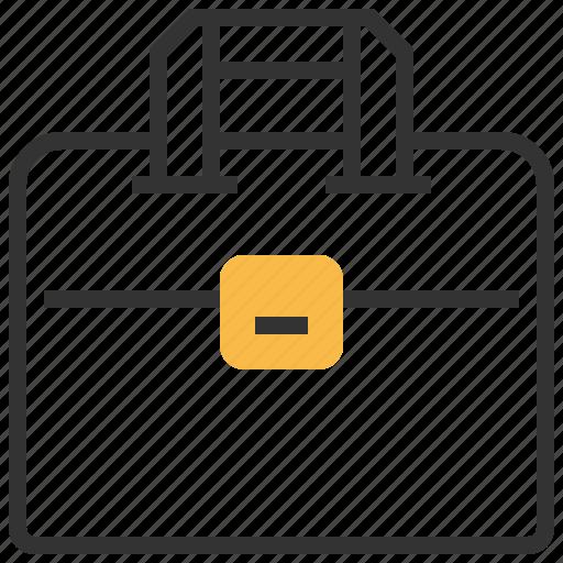 briefcase, business, financial, job, office, portfolio, work icon