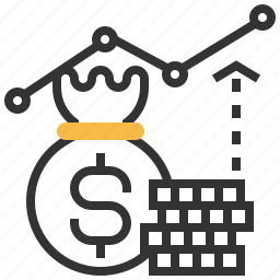 business, cash, currency, dollar, finance, investment, shopping icon