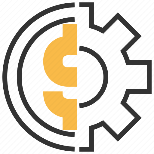 bank, business, coin, currency, financial, management, money icon