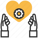 heart, relationship, sign, status icon