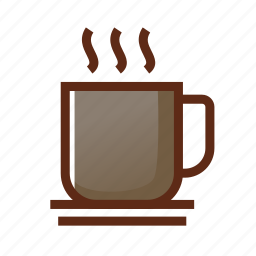 break, break time, business, coffee, colors, glass, tea icon