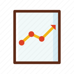 business, colors, progress, statistic, traffic icon
