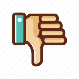 bad, business, colors, dislike, worse icon