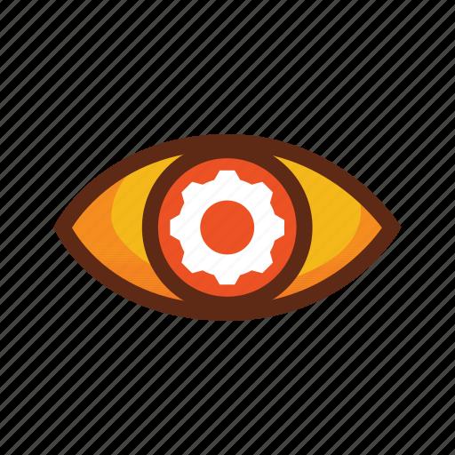 business, colors, control, manage, management icon