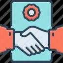 agreement, collaboration, complicity, deal, deal agreement, handshake, partnership