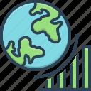achieve, achievement, analyst, global progress, graph, growth, success