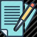 bureaucracy, documents, education, overwork, paperwork, pen
