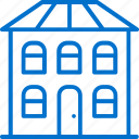 address, building, facility, house, location, office, place icon