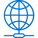 connection, global, international, internet, network, online, server icon