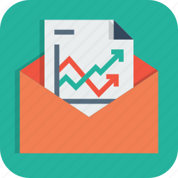 analysis, business, document, email, mail, paper, statics icon
