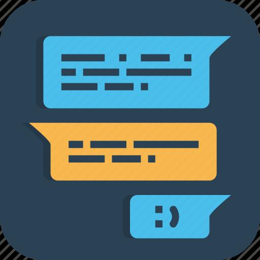 chat, comment, comments, community, conversation, forum, talk icon