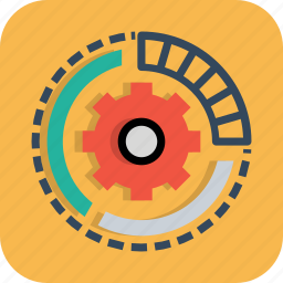 engine, gear, optimization, options, preferences, processing, settings icon