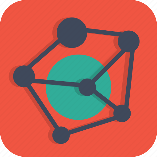 business, connection, link, model, network icon