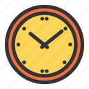 business, clock, eliement, equipment, essential icon