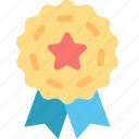 achievement, award, badge, medal, prize, success, winner icon