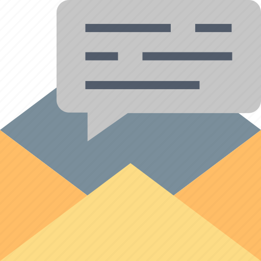Email, communication, conversation, envelope, letter, mail, message icon - Download on Iconfinder