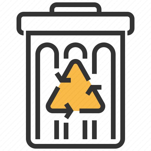 bin, dustbin, recycle, trash icon