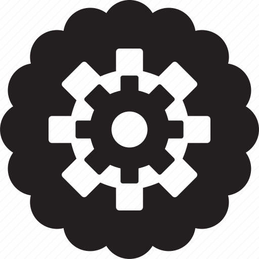 cogwheel, gear, preferences, production, production wheel, wheel icon icon