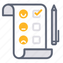 after sales service, comment, customer service, feedback, rating, reflection, reviews icon